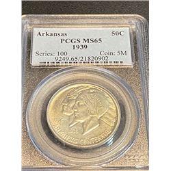 1939 Arkansas MS 65 PCGS Half Dollar