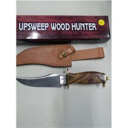 "HUNTING KNIFE 4"" HANDLE 6"" BLADE"