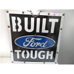 "CUSTOM MADE 3D FORD METAL SIGN 21.5""X22.5"""