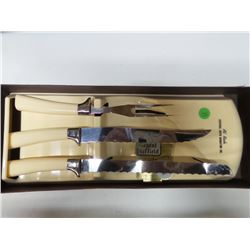 ENGLISH CULTLERY KNIFE AND FORK SET