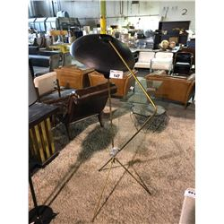 MODERN METAL FLOOR LAMP