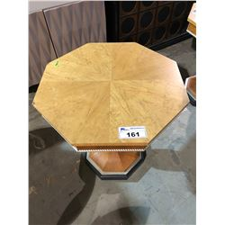 OCTAGON OCCASIONAL TABLE