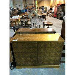 GOLD DECORATED SIDEBOARD CABINET