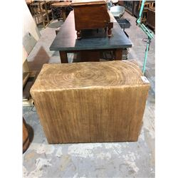 LARGE WOOD TABLE BASE