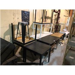 LARGE LOT OF TABLES AND CHAIRS