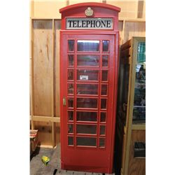 ENGLISH STYLE TELEPHONE BOOTH