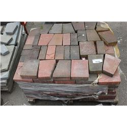 PALLET OF PAVING STONES