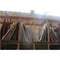 LARGE LOT OF ARTWORK UPPER PALLET RACKING