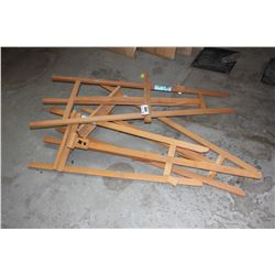 LOT OF 3 ART EASELS