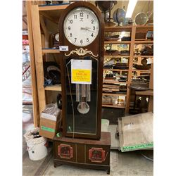 GERMAN MADE GRANDFATHER CLOCK