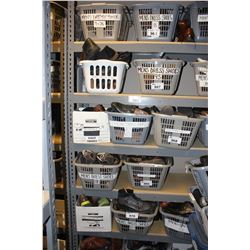 METAL SHELVING UNIT, CONTENTS NOT INCLUDED