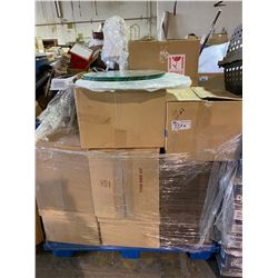 PALLET LOT OF MISC. MOVIE ITEMS