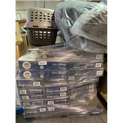 PALLET OF ANIMAL KENNELS