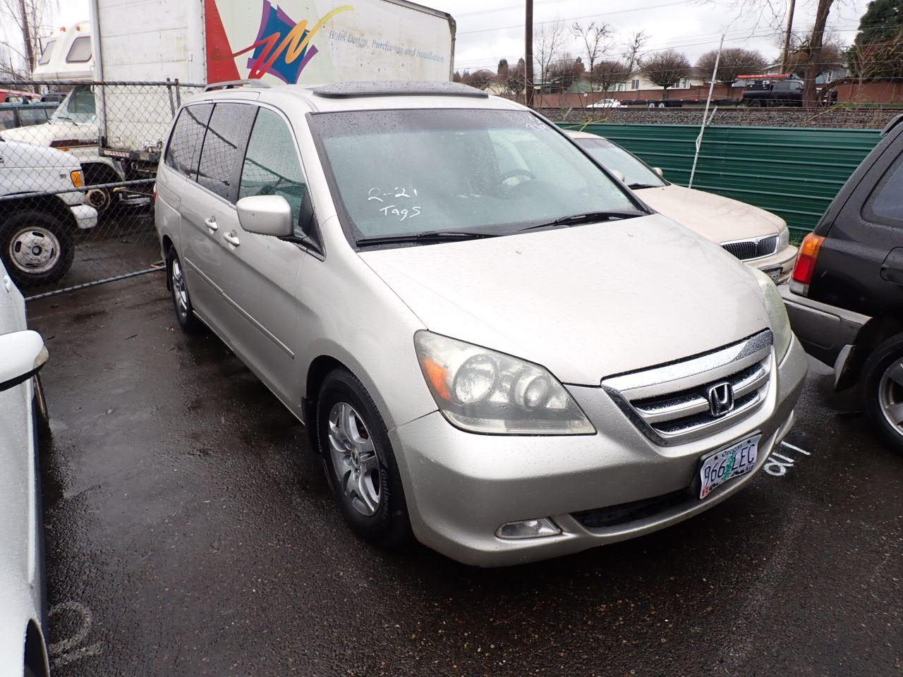 2005 Honda Odyssey - Speeds Auto Auctions