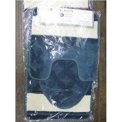 KATHY 3 PIECE BATHSET (BLUE)