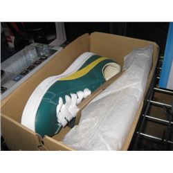 SIZE 13 - GREEN PUMA BASKET CLASSIC SNEAKERS