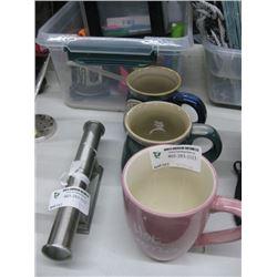 3 COFFEE MUGS