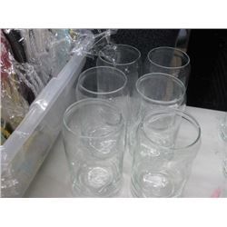 6 BEER CAN GLASSES
