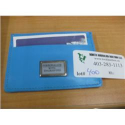 SMALL CARD WALLET BLUE