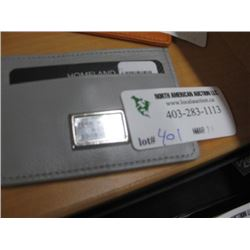 SMALL CARD WALLET GREY