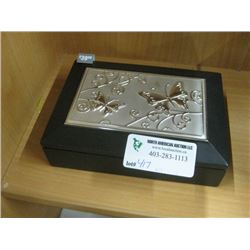 SILVER BUTTERFLY BOX