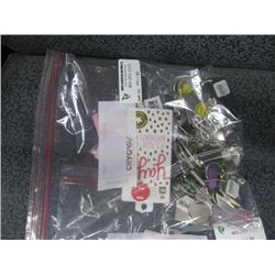 BAG OF MISC KEY CHAINS