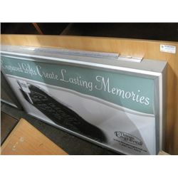30 X 54 INCHES LIGHT UP SIGN BOARD