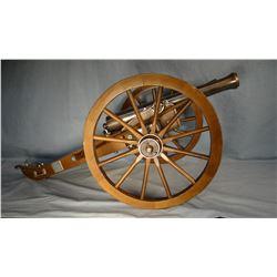 "Dahlgren 63 model cannon, 27"" long x 12"" h"