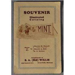"Sid Willis, Great Falls, MT advertising catalog, 1929, CMR, C. A. Bel, O. C. Seltzer, 5"" x 7 1/2"" an"