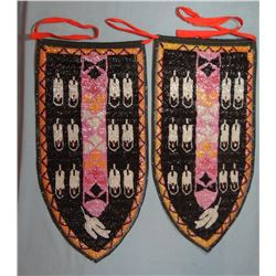 """Wind River Reservation side drops, 20"""" x 10"""" each"""