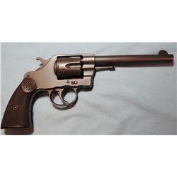 """Colt Navy .38 DA, 6"""" bbl, hard rubber grips, s"""