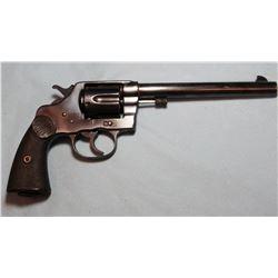 """Colt DA revolver, New S., .44, s#16699, made 1895, 7 1/2"""" bbl, nice condition. LN 2"""