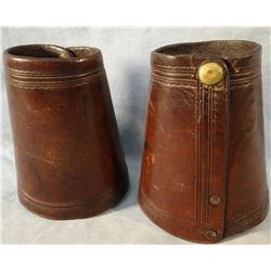 Moran Bros., Miles City, M. T.  cowboy cuffs, good mark, est. $300 - 350