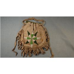 Cheyenne old bead bag, ca. 1930's, Morning Star.