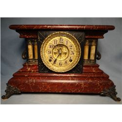 Gilbert mantle clock, working