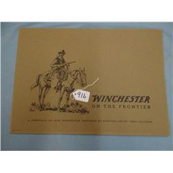 Fellows, Fred, Winchesters of the Frontier, 9 prints in original envelope, depicting the most famous