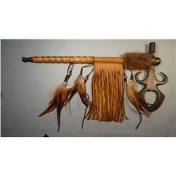 """Tomahawk, 19"""", Chippewa/ Cree, Many Trails Collection,"""