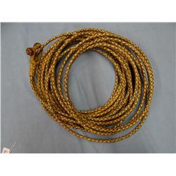 4 strand 60' riata, made by Calvin Hochstradt, White Sulphur Springs, MT