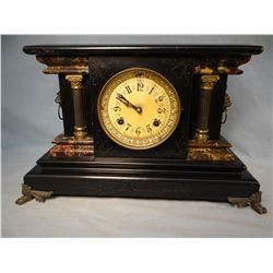 New Haven mantle clock, working