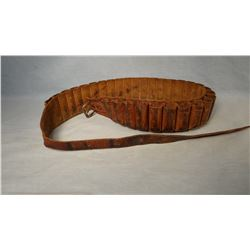 Vintage Shot shell ammo belt, unmarked