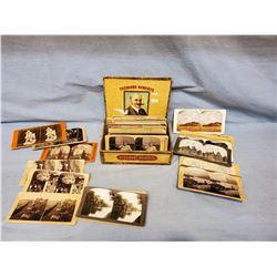 Stereoviews  in Theodore Roberts cigar box, 50+/-