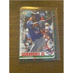 Vladimir Guerrero JR Topps Green holiday Rc