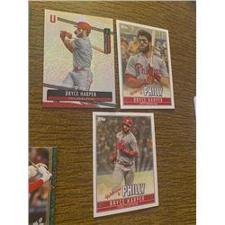 Bryce Harper 3 card lot