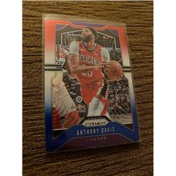 Anthony Davis prizm red white and blue