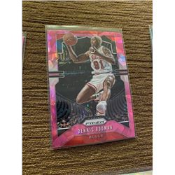 Dennis Rodman pink cracked ice
