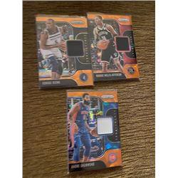 Basketball Jersey  Cards Lot
