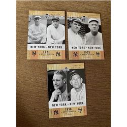 1921,23,36 World Series Baseball Cards