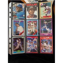 Joe carter 9 card lot