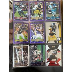 9 Football Cards Lot with stars Demarcus Ware Rc