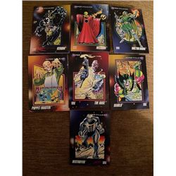 Action Heros Cards Lot